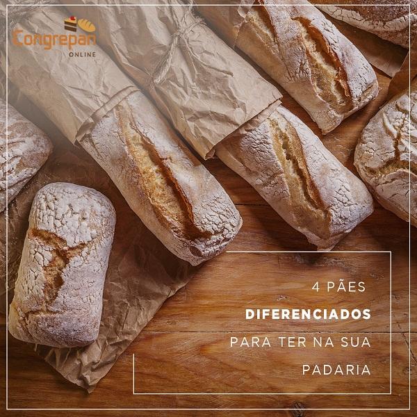 4 tipos de pães diferenciados para você oferecer na sua padaria