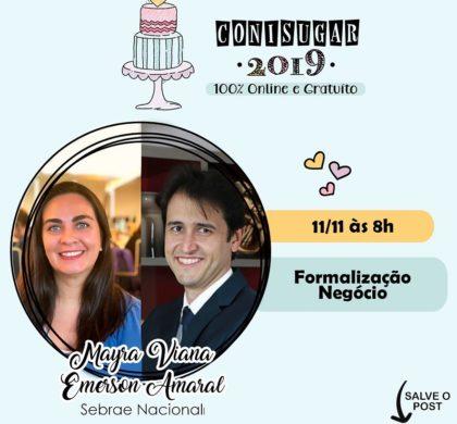 """Live sobre """"Formalização Negócio"""" do Sebrae Nacional"""