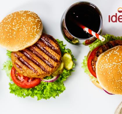 Dia do hambúrguer: use os leiautes gratuitos e promova um festival