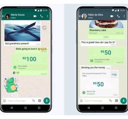 WhatsApp Pay chega ao Brasil